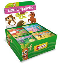 Libri Organetto the Sea, the Woods, the Savanna, the Farm